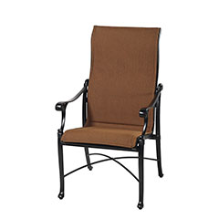 Michigan Padded Sling High Back Dining Chair