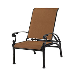 Michigan Padded Sling Reclining Chair