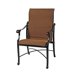 Michigan Padded Sling Standard Back Dining Chair