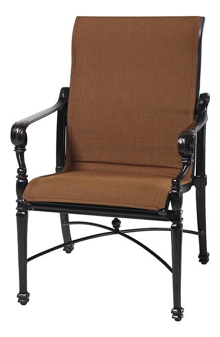 Grand Terrace Padded Sling Standard Back Dining Chair