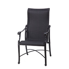 Michigan Woven High Back Dining Chair