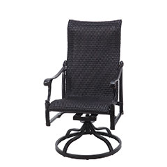 Michigan Woven High Back Swivel Rocker