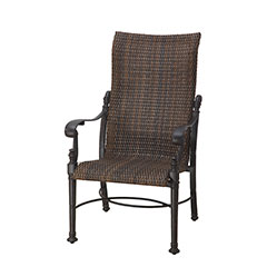 Florence Woven High Back Dining Chair