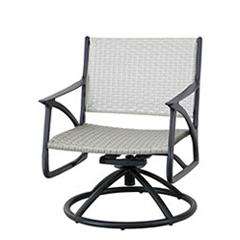 Amari Woven Swivel Rocking Lounge Chair
