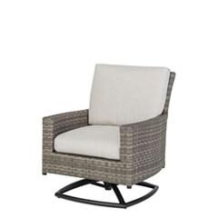 Alexee Woven Swivel Rocking Lounge Chair