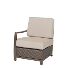 Rio Woven Right Arm Lounge Chair