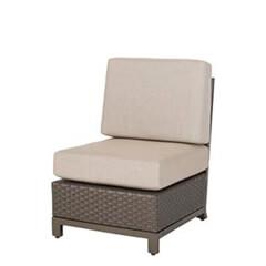 Rio Woven Armless Lounge Chair