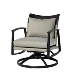 Treviso Cushion Swivel Rocking Lounge Chair