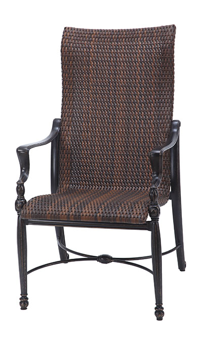 Bel Air Woven High Back Dining Chair