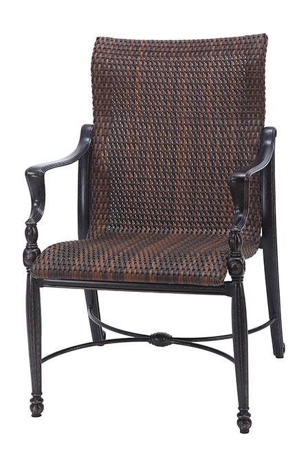 Bel Air Woven Standard Back Dining Chair