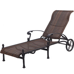 Florence Woven Chaise Lounge