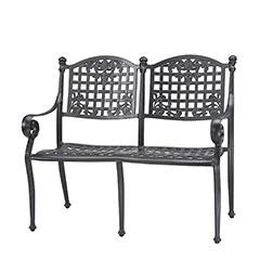 Verona Cushion Bench
