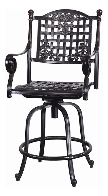 Verona Cushion Swivel Balcony Stool