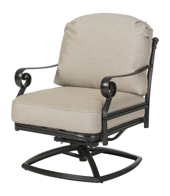 Verona Cushion Swivel Rocking Lounge Chair