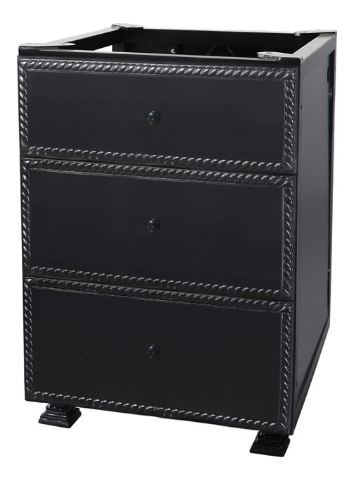 "Paradise 24"" Modular Three Drawer Cabinet"