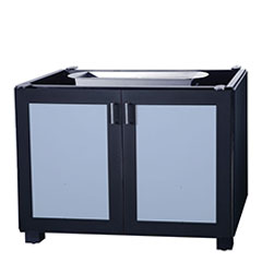 "Modanō 48"" Modular Gas Fire Pit Cabinet - w/flame sensor"