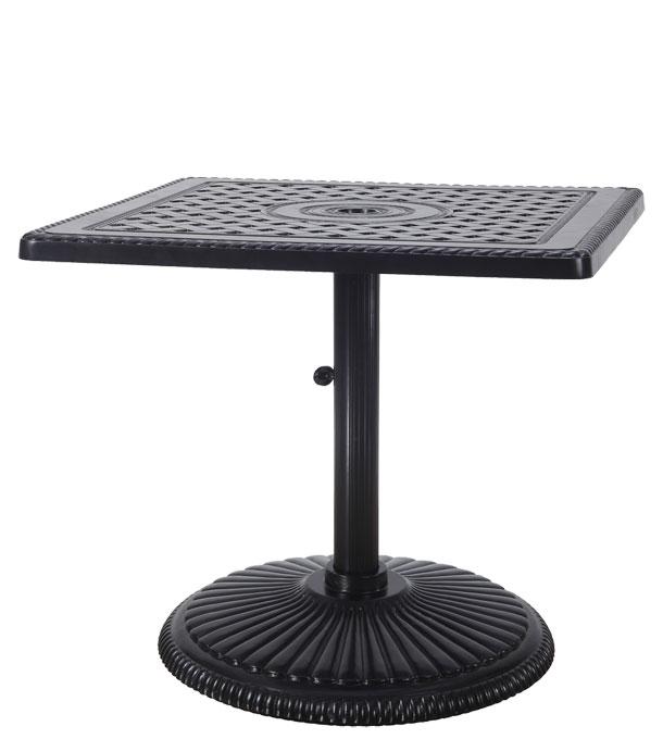 "Grand Terrace 30"" Square Pedestal Table"