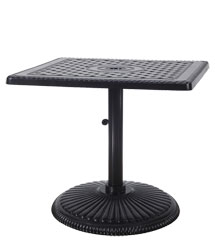 "Grand Terrace 30"" Square Pedestal Table"