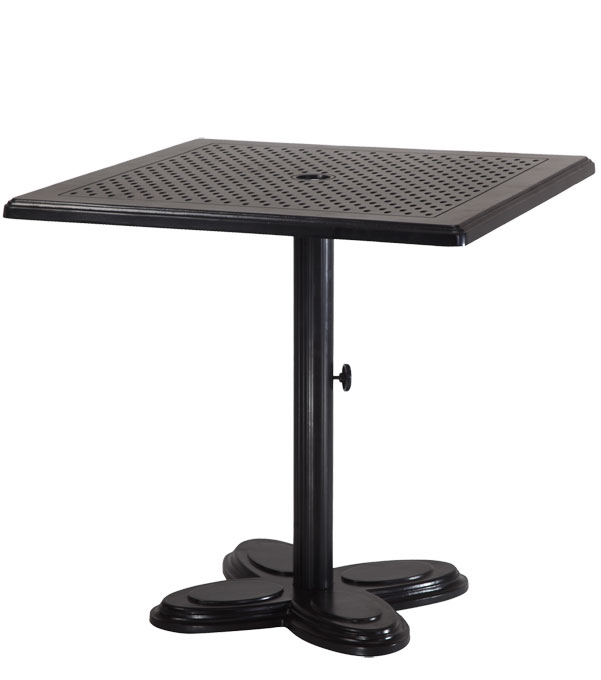 "Lotus 30"" Square Pedestal Table"