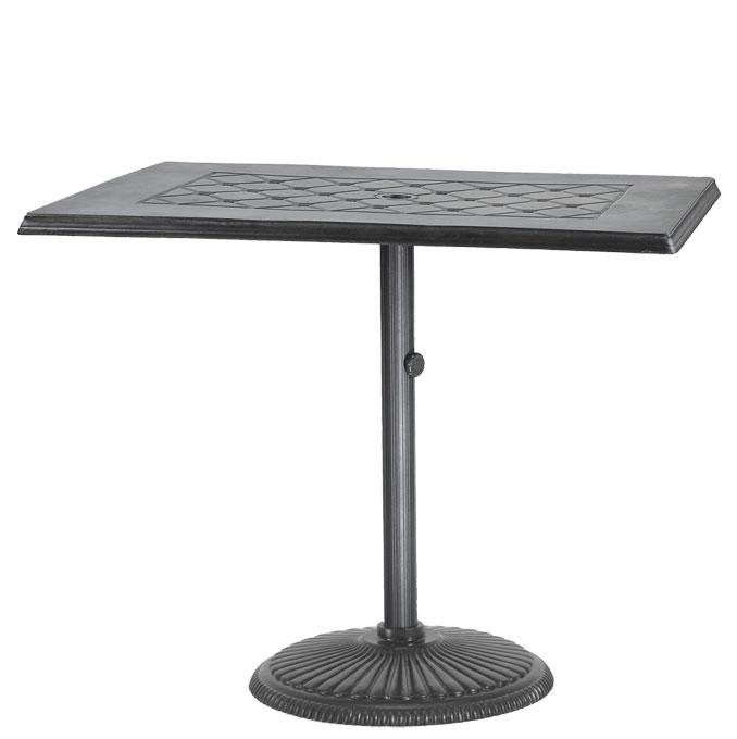 "Madrid II 30""x48"" Rectangular Pedestal Table"