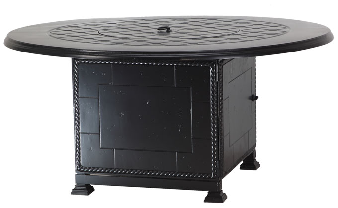 """Madrid II 54"""" Round Fire Pit with Paradise Base"""