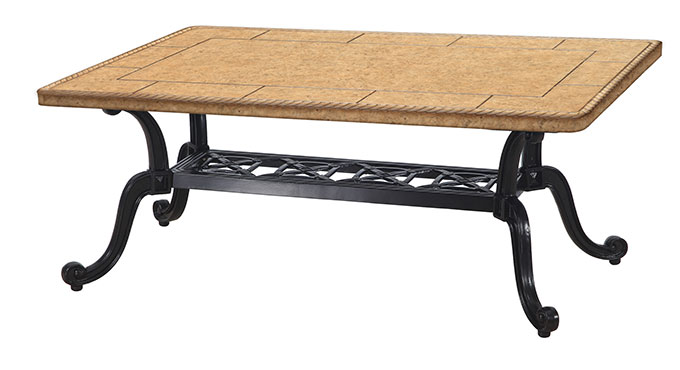 "Paradise 24""x44"" Rectangular Coffee Table"