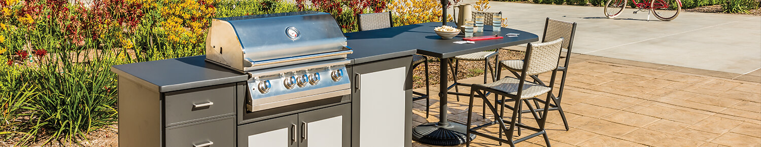 Grill Seating Island